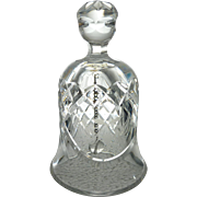 1985 Waterford Crystal Christmas Bell