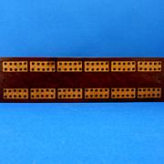 Inlayed Cribbage Board – Made in England