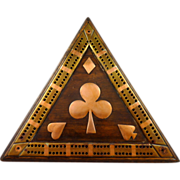 Triangular Cribbage Board