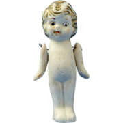 Bisque Doll with Movable Arms