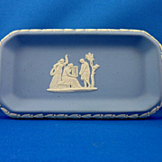 Wedgwood Blue Jasperware tray