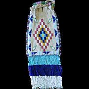 SALE PENDING Western Apache Beaded Bag