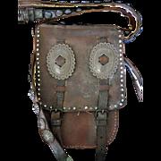 Apache Scouts Dispatch Bag Circa 1880