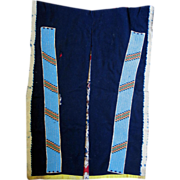 Beaded Lakota Sioux Stroud Cloth Leggings 1870