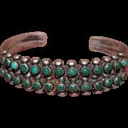 Zuni Snake Eyes Row Bracelet