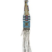 Cheyenne Sacred Stripe Beaded Pipe Bag