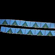 Yankton Sioux Legging Strips  1870's