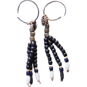 Jiccarilla Apache Earrings 1880's