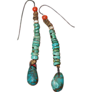 Navajo/Pueblo Turquoise Earrings