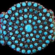 1930's Navajo Circular Cluster Bracelet