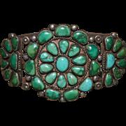 Classic 1920's Navajo Cluster Bracelet