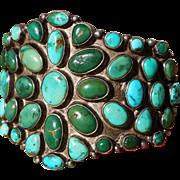 SALE 1920's Navajo Cluster Bracelet