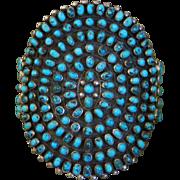 1930's Zuni Cluster Bracelet