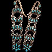 Zuni Tiered Drop Earrings
