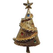 Rope Garland Petite Christmas Tree Pin
