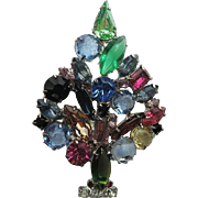 SALE Fruit Salad Christmas Tree Pin