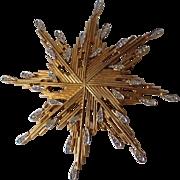Jomaz Mid-Century Atomic Space Age Snowflake Pin/Pendant