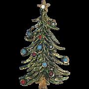 Petite 1950's Christmas Tree Pin