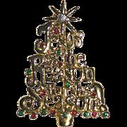 Jesus is the Reason for the Season Christmas Tree Pin