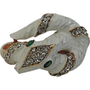 REDUCED Trifari 1968 Garden of Eden Collection Snake Ring