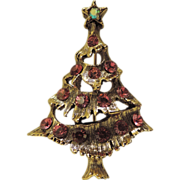 SALE Pretty in Pink Christmas Tree Pin