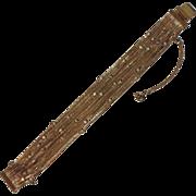 SALE RARE Weiss Snake Chain Rhinestone Bracelet