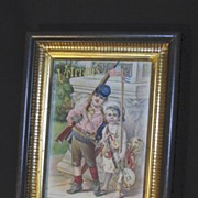 REDUCED Antique Veteran's Day Lithograph
