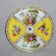 SALE Dresden Plate by Richard Klemm