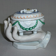 SALE Bavarian China Trinket Box