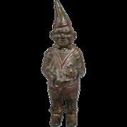 REDUCED Antique Cast Iron Clown Bank