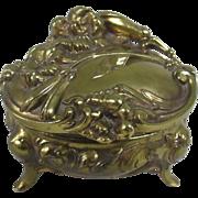 REDUCED Antique Jewelry Casket