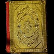 SALE Antique 19th Century Viennese MINIATURE Mignon Book