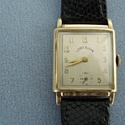 14K Gold Lord Elgin Wristwatch.