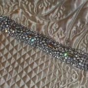 Fabulous Signed Vintage Rhinestone Bracelet Kramer Jaw Dropping Vintage Wedding