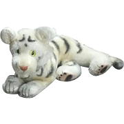 True Vintage 40's 50's Mohair Toy Plush Tiger Quality