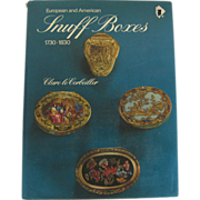 SOLD European and American Snuff Boxes 1730 – 1830 by Corbeiller