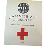 SOLD Rare book Japanese Art and Handicraft by Joly and Tomita