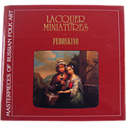 SOLD Lacquer Miniatures  Fedoskino,  English Version