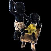 SALE Vienna Bronze Black Girl & Boy Spanking – c 1900