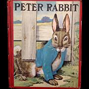 Vintage Beatrix Potter Peter Rabbit Book 1920s with 28 Illustrations