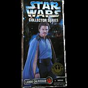"Star Wars Collector Series Lando Calrissian Figure 12"" 1996 Kenner Doll"