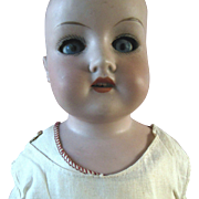 SOLD Antique German Bisque Doll in excellent condition