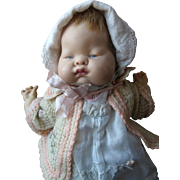 """SOLD 1960s Vogue Baby Dear 12"""" Once Musical Doll"""