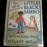 SOLD 1933 Animated Little Black Sambo Black Americana Book