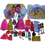 1970s Topper Dawn Doll Lot with Wardrobe
