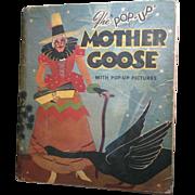 """1933 """"Pop-Up"""" Mother Goose Book by Harold B. Lentz"""