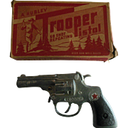Vintage Hubley Trooper Toy Cap Gun Pistol 240 in original box