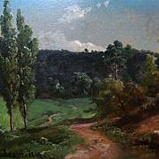 Bernhard Fries  German landscape
