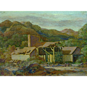 """Old Mining Site""  by Charles Drogkamp"