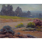 Arthur Gail Anderson   Arroyo Seco-San Fernando Valley  10x12 oil on canvas